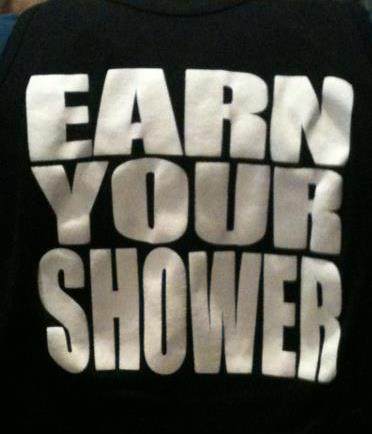 EarnYourShower