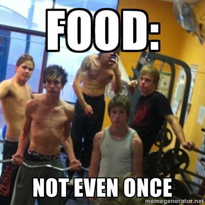Bei allem Respekt: Denkt immer daran: richtiges Essen ersetzt keine Apotheke.