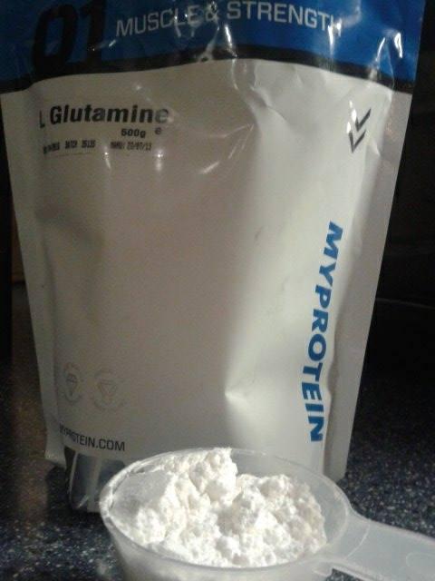Review: L-Glutamin von Myprotein im Test