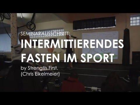 Intermittierendes Fasten im Sport by Strength First.