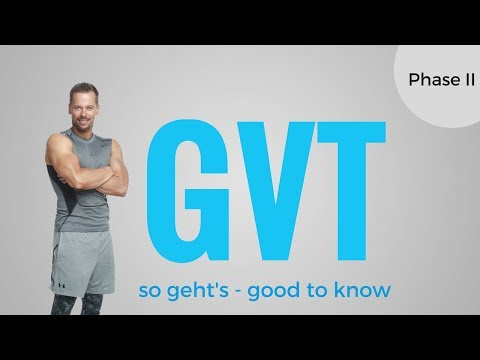 GVT Training German Volume Training Phase II