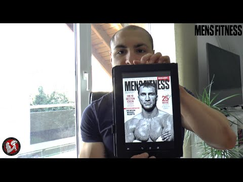 Die neue Mens Fitness App - Das exklusive Aesir Sports-Review