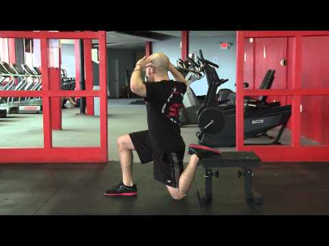 Hip Mobility Exercises: Rear Foot Elevated Kneeling Hip Flexor Stretch
