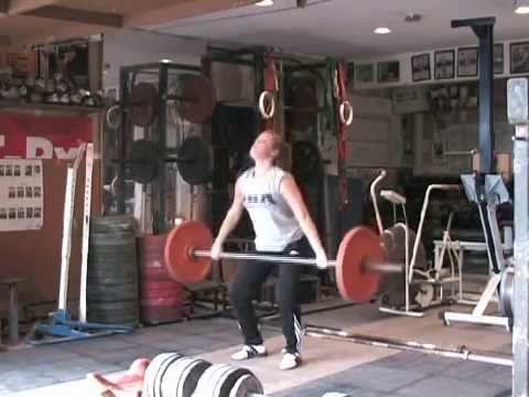 Hang Power Snatch Demo
