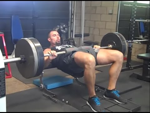 Proper Hip Thrust Form