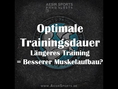 Optimale Trainingsdauer: Langes Training = Besserer Muskelaufbau?