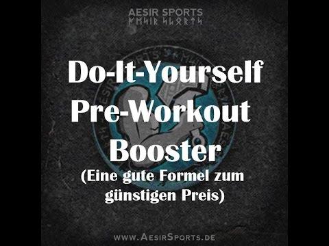 Der perfekte All-in-One Pre-Workout Booster - Maximaler Fokus | Kraft | Energie | Pump