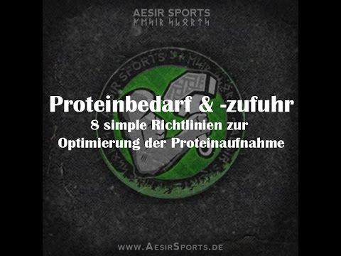 Proteinbedarf & Proteinzufuhr | 8 simple Richtlinien zur Optimierung der Proteinaufnahme