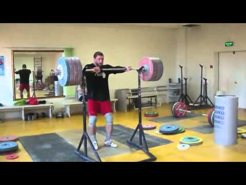 Dmitry Klokov 225 Kg (495lb) Push Press