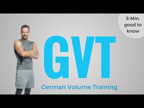 German Volume Training In 5 Minuten erklärt