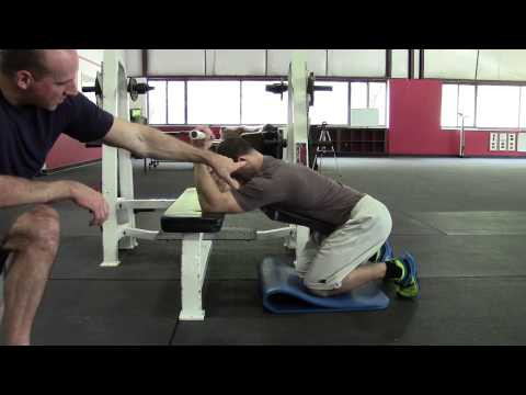 HighPerformanceHandbook.com: Bench T-Spine Mobilizations