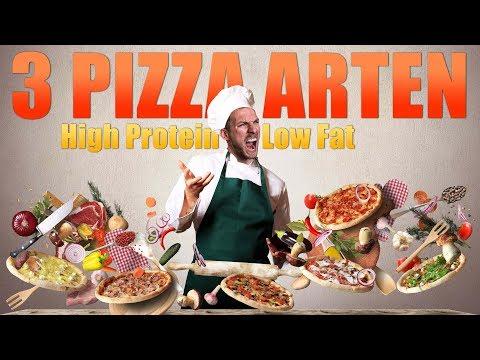 TOP 3 PROTEIN PIZZA REZEPTE 🍕