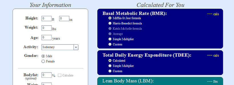 Intermittent Fasting: The Calculator