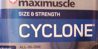 "Review: Cyclone ""Schoko"" von maximuscle im Test"