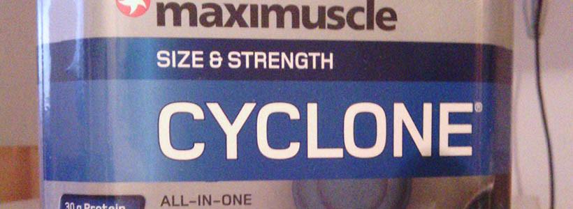"Review: Cyclone ""Schoko"" von maximuscle im Test"
