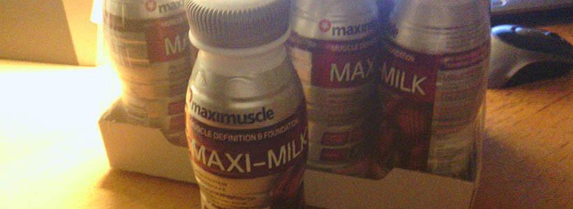 """Review: MAXI-Milk """"Erdbeer"""" von maximuscle im Test"""