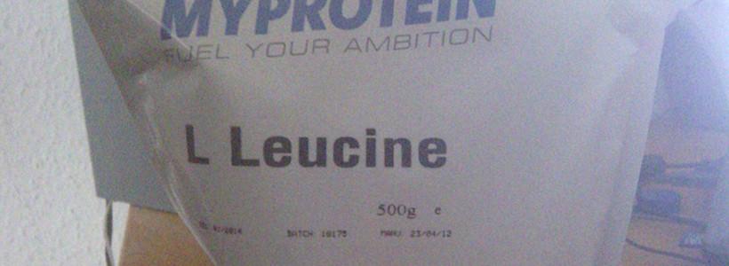 Review: L-Leucin (geschmacksneutral) von MyProtein im Test