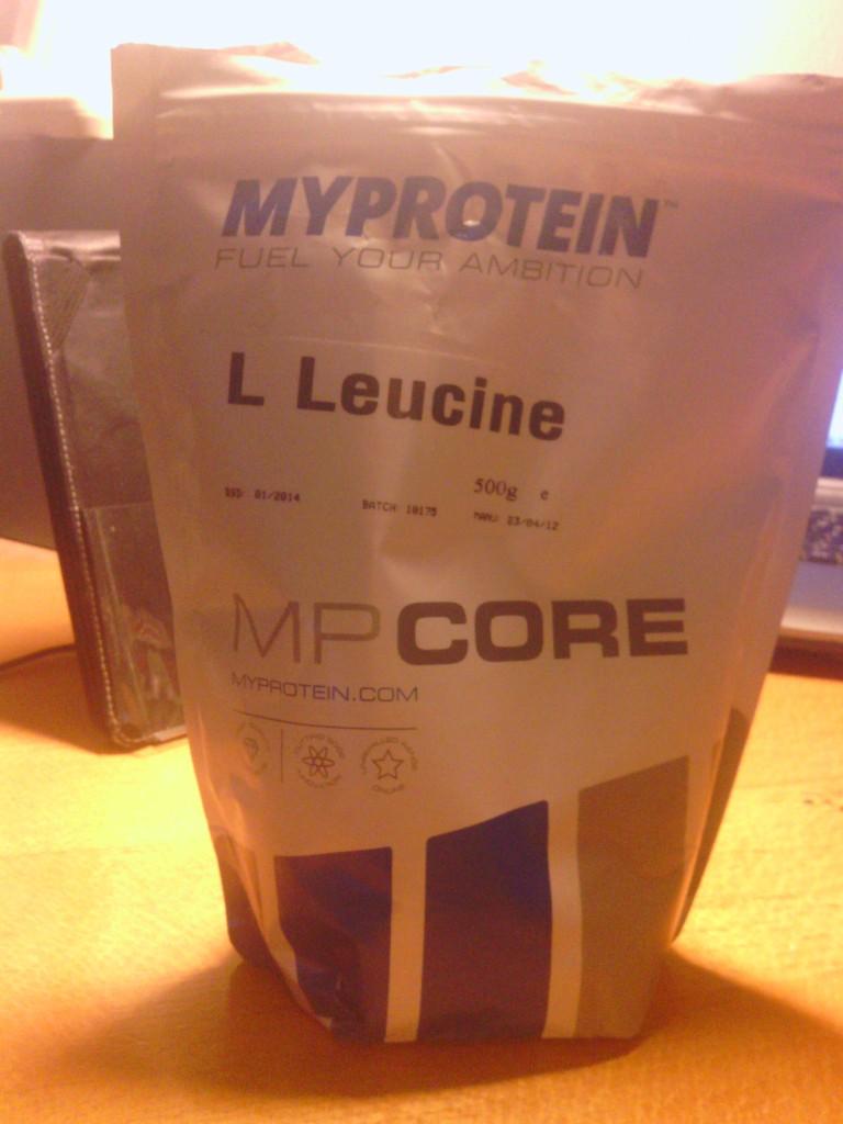 L-Leucine von MyProtein im handlichen 500g Zip-Verschluss-Beutel. Hält das Produkt, was es verspricht? Was sagen die Studien?
