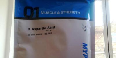 """Review: D-Asparaginsäure """"geschmacksneutral"""" von Myprotein im Test"""