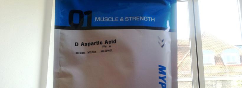 D-Asparaginsäure (D-AA) für mehr Testosteron?