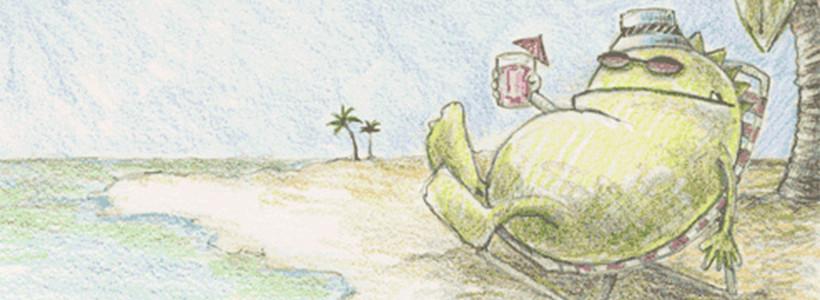 """Insel Irgendwann: Über """"Urlaub nehmen,"""" Gewohnheiten & aktives Handeln"""