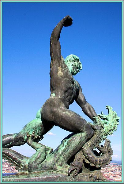 Der (Lind)wurm hats verdient! (Bildquelle: Wikipedia.de)