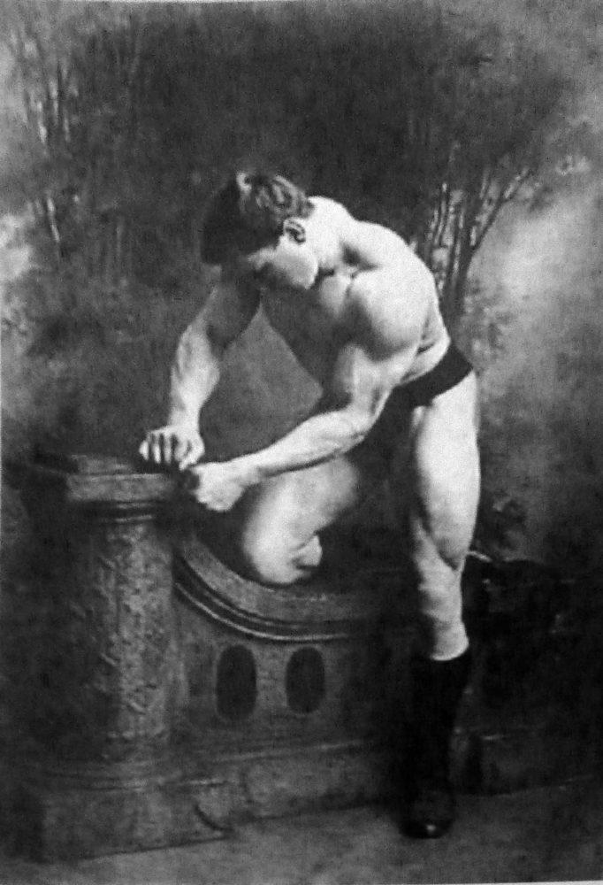 Georg Hackenschmidt um 1900: Ein Körper wie ein griechischer Gott