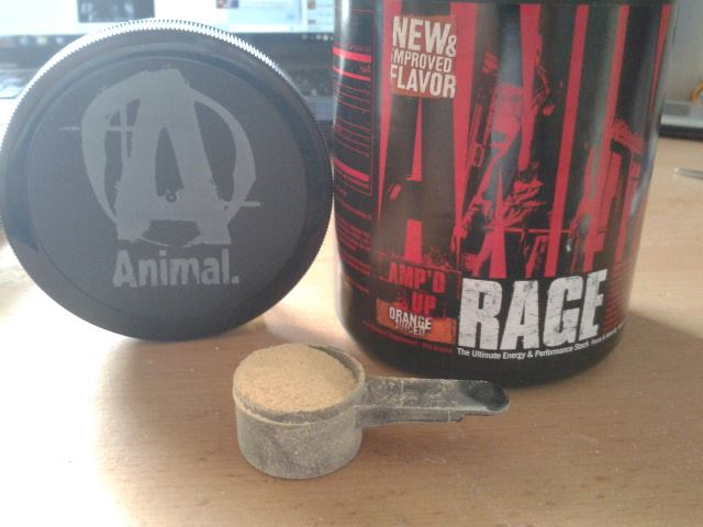 Review: Animal Rage von Universal Nutrition im Test