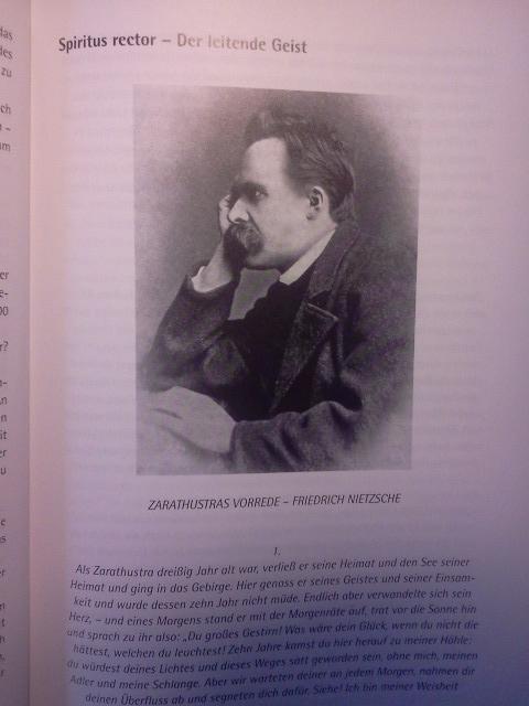 Friedrich Nietzsche - Kaum ein Mensch hat Christian Zippel in seinem Denken so inspiriert wie er. Sein Einfluss zieht sich durch das gesamte Werk