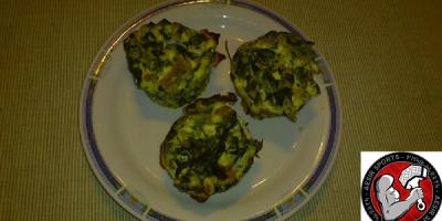 Spinat Thunfisch Muffins