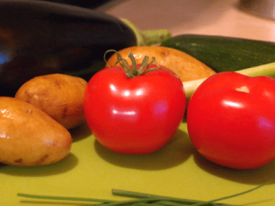 Vegane Kartoffel-Gemüse-Pfanne