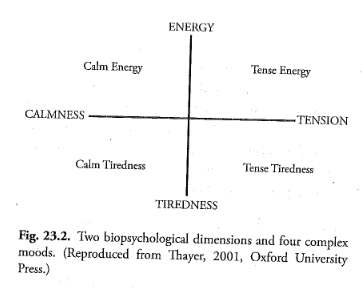 Buchempfehlung: Calm Energy. How People Regulate Mood with Food and Exercise von Robert E. Thayer
