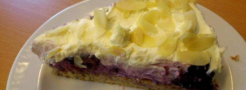 LowCarb Ricotta-Brombeer-Torte