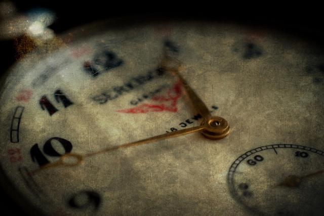 Tick. Tack. Tick. Tack. Wir haben alle nur 24 Stunden pro Tag, doch wir nutzen sie nicht gleich. (Bildquelle: Flickr / Nomadic_Lass ; CC Lizenz)