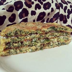 Spinat Omelette