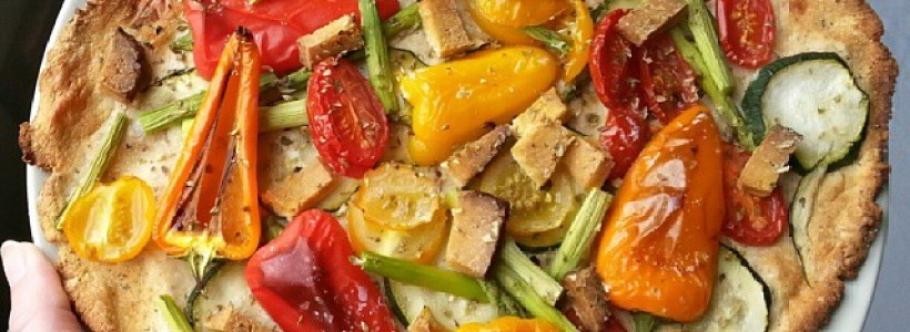 Low Carb Gemüsepizza