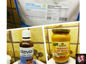 Apfelstrudel Quark-Creme mit Apfelmark und Zimt