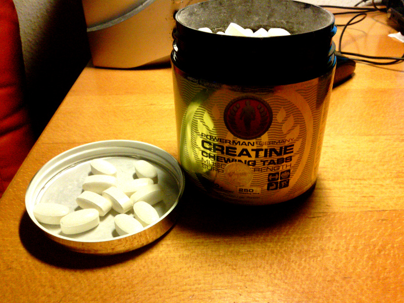 Creatine Kautabletten von Powerman