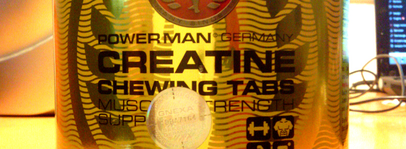 "Review: Creatine Chewing Tabs (Kautabletten) ""Orange"" von Powerman"