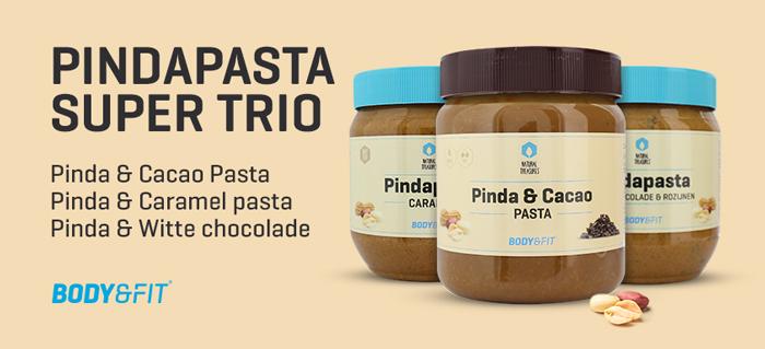 """Das """"Pindapasta""""Special (Erdnussbutter-Deal): 3x500mg Erdnussbutter in 3 Verschiedenen Versionen für 5,99 € statt 10,40 €"""