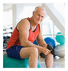 Starke Männer leben länger
