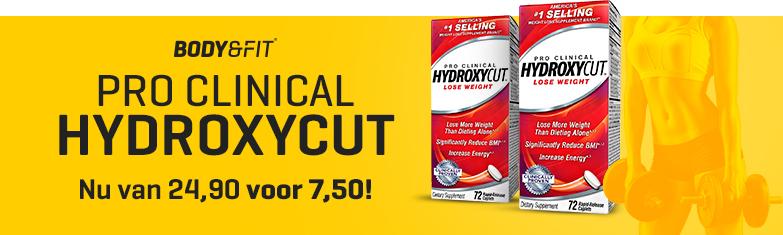 Hydroxycut: Reduziert von 24,90 € auf 7,50 € pro Packung! Nur für kurze Zeit!