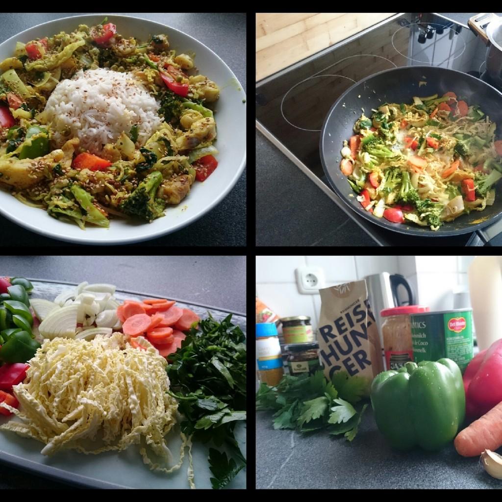 Kokos-Gemüse-Pfanne-mit-Vollkornreis-Bild-2