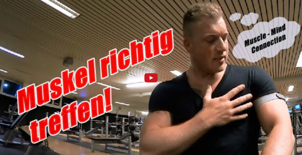 [Video] Schmale Schulter Fitness: Muskel richtig treffen - (Muscle-Mind Connection)
