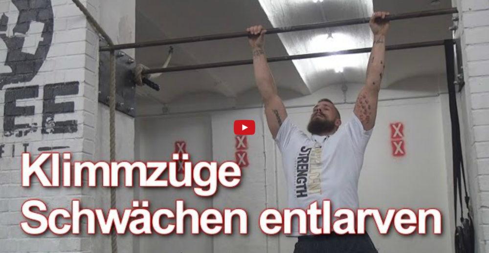 [Video] Johannes Kwella - Klimmzüge: Schwächen entlarven