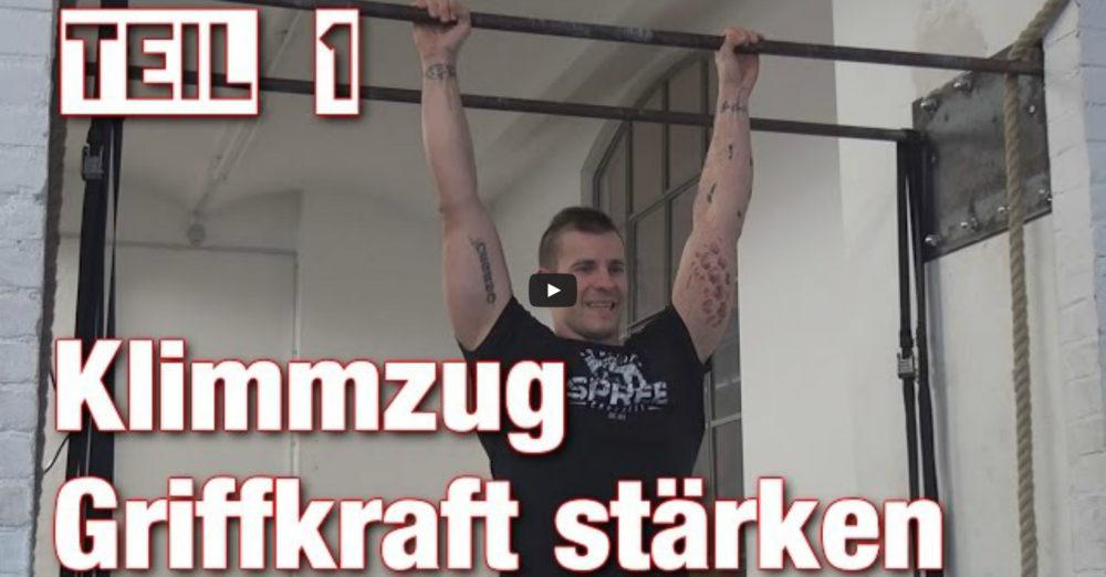 [Video] Johannes Kwella - Klimmzüge: Griffkraft stärken (Pull-Up Series #1)