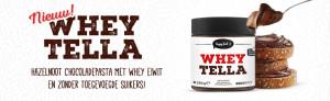 Body & Fitshop released ihr neues Produkt: WheyTella, eine Kombi aus Whey und Haselnusscreme!
