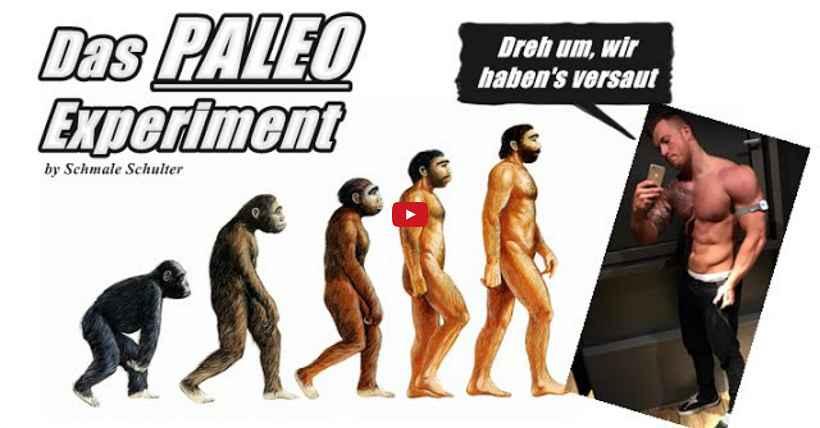 [Video] Schmale Schulter Fitness – Das PALEO Experiment - Der Abbruch? – Teil 2