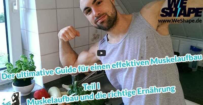 [Video] IQ Fitness - Wie baue ich effektiv Muskeln auf? - Teil 1: Ernährungstipps & Grundlagen