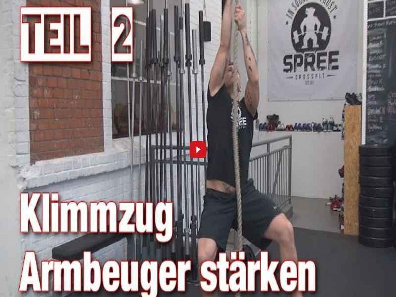 [Video] Johannes Kwella: Klimmzüge: Armbeuger stärken Pt.2 (Pull-Up Series #4)